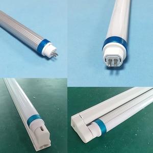 Image 5 - 10pcs T5 led tube light 18w 4ft 1200mm t6 with g5 holder AC110 277V 1.2m led aluminum + pvc Tube lamps for living room factory