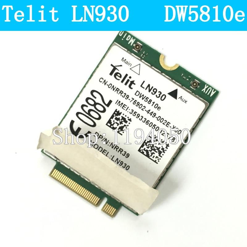 все цены на TELIT LN930 DELL DW5810e PN: 0TW3N 4G Wireless LTE Mobile WWAN Card 4G/LTE/DC-HSPA+ WWAN