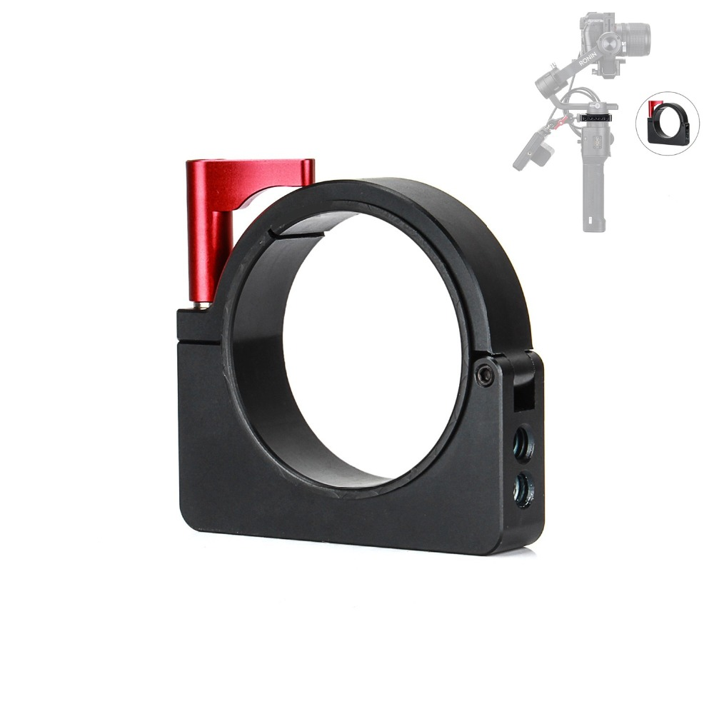 все цены на EACHSHOT Gimbal Extension Mounting Ring for DJI Ronin S Applied to Camera Monitor Rode Microphone Video Light Accessoires онлайн