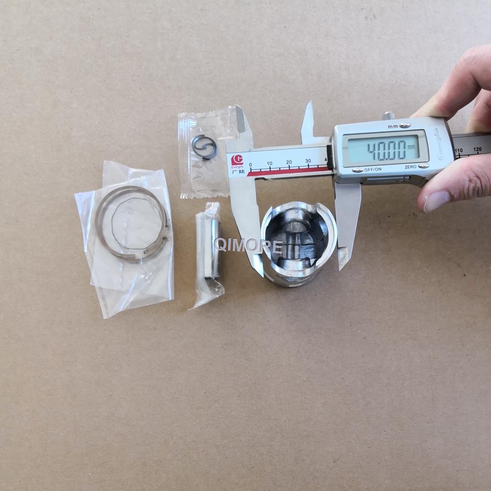 QJ50 Piston Set 12mm 4