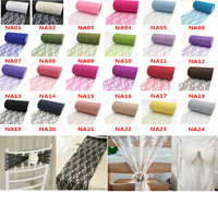 Tulle Roll 25yards 15cm Spool Lace For Wedding Decoration DIY Netting Fabric Chair Sashes Table Runner