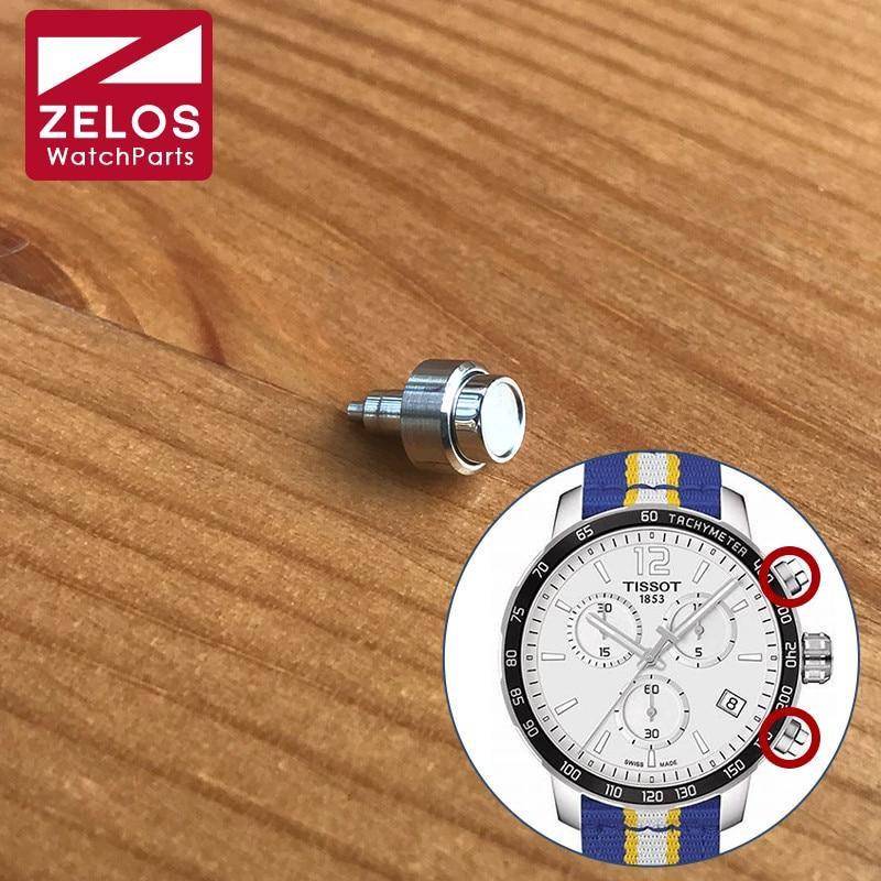 chronograph watch pusher fit Tissot T-Sport Quickster Men's Watch button