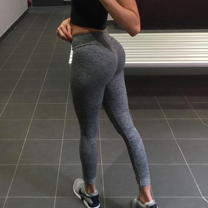 Nessaj S-XL Casual Push Up   Leggings   Breathable Slim   Leggings   Women Summer Workout Polyester Jeggings Fashion Sexy   Leggings