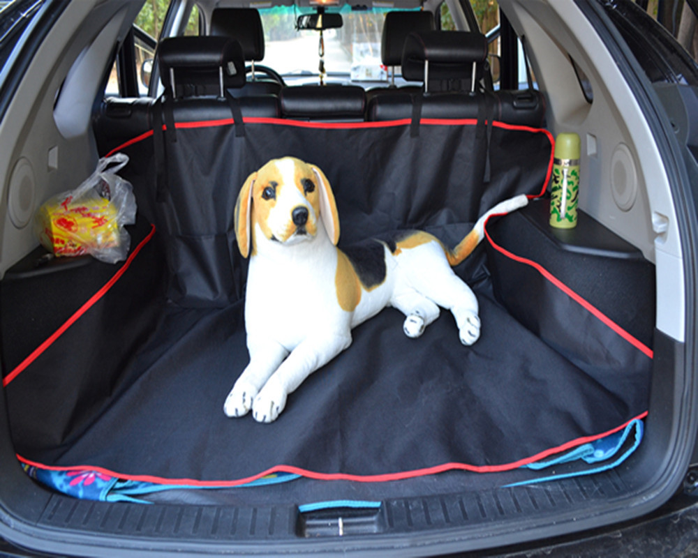 Universal Waterproof Car Trunk Liner Protector Rear Back Seat Cover ...