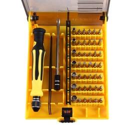 45 в 1 Профессиональный Аппаратные средства Пинцет отвертка Набор инструментов для телефона ПК электрические дом