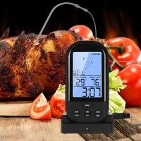 Four Thermomètre Cuisine Outils Numérique LCD Sans Fil Thermomètre De Cuisson de Viande de Nourriture BBQ Grill Thermomètre