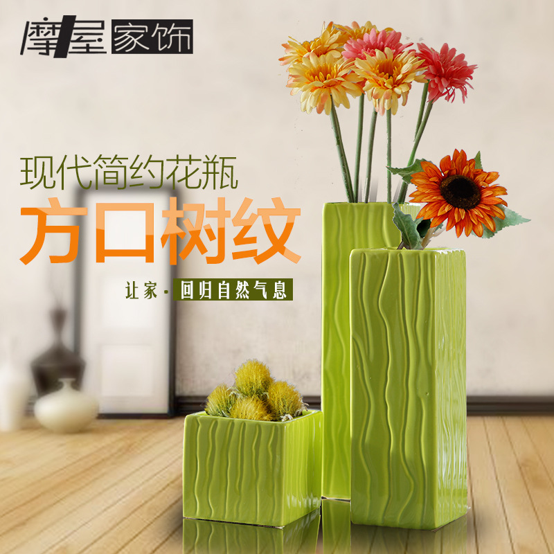Exclusive Genuine Jingdezhen Ceramic vase modern minimalist living room table vase Home Decoration