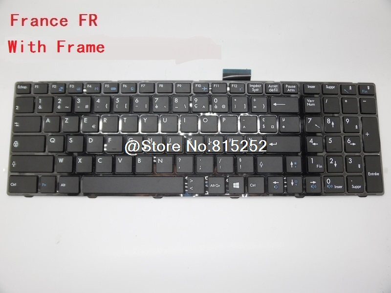 Laptop Keyboard For MSI GP70 2PE-011CA Canada 2PE-025UK 2PE-026UK 2PE-233XTR Turkey 2PE-006US English 2PE-027XFR 2PE-077TW laptop keyboard for samsung r580 r590 r590e e852 canada ca germany gr portugal po russia ru ba59 02681j ba59 02812c ba59 02681l