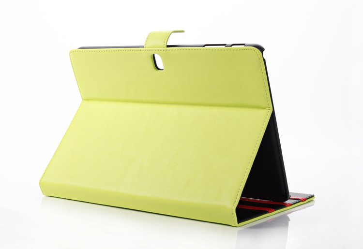 Fashion Folio Stand PU Leather Magnetic Closure Book Cover Holder Case For Samsung Galaxy Tab Pro 10.1 T520 T521 10.1 Tablet