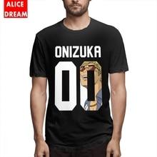 T shirt Gto Great Teacher Onizuka Tee Shirt Men's Quality Picture Custom Tee Organic Cotton S-6XL Big Size T Shirt цена 2017
