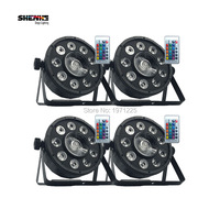 9X10W 1X30W LEd RGB Night Lamp LED 3IN Disco Party Stage Light DMX AC90V 275V Power