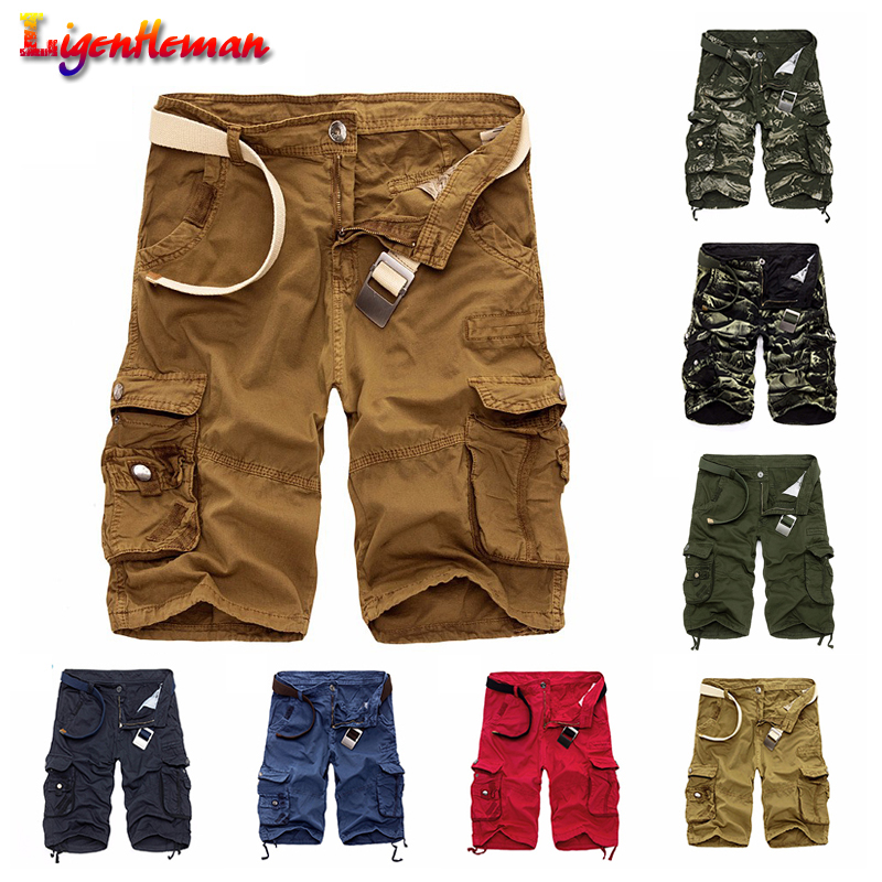 Summer Hot Sale Camo Men Cargo   Shorts   Board   Shorts   Men   Short   Pants Brand Clothing Comfortable Men Cool Camouflage Cotton Casual