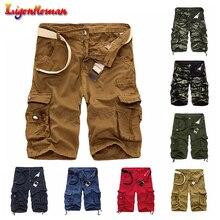 Summer Hot Sale Camo Men Cargo Shorts Board Shorts