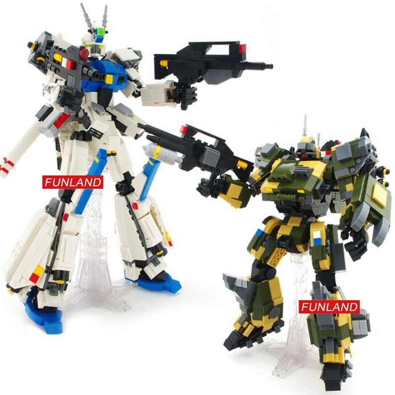 Hot super gundam robot Forseti mech building block Hound battle mecha model bricks assemblage toys collection for boys gifts
