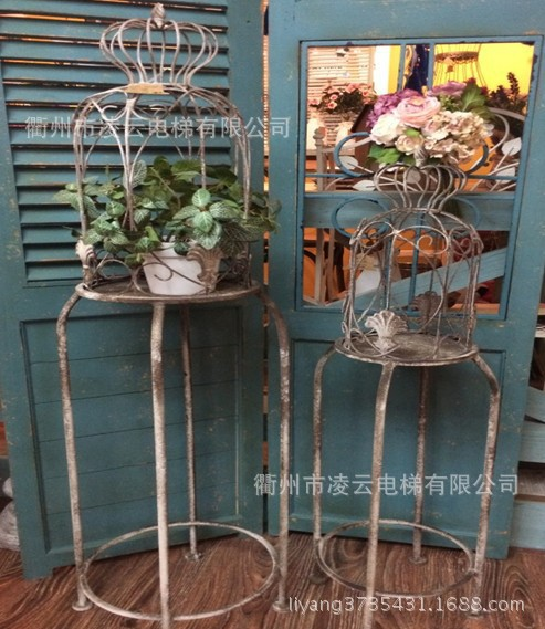 French Country Garden Decoration American To Do The Old Antique Wrought Iron Ornaments Flower Gardening