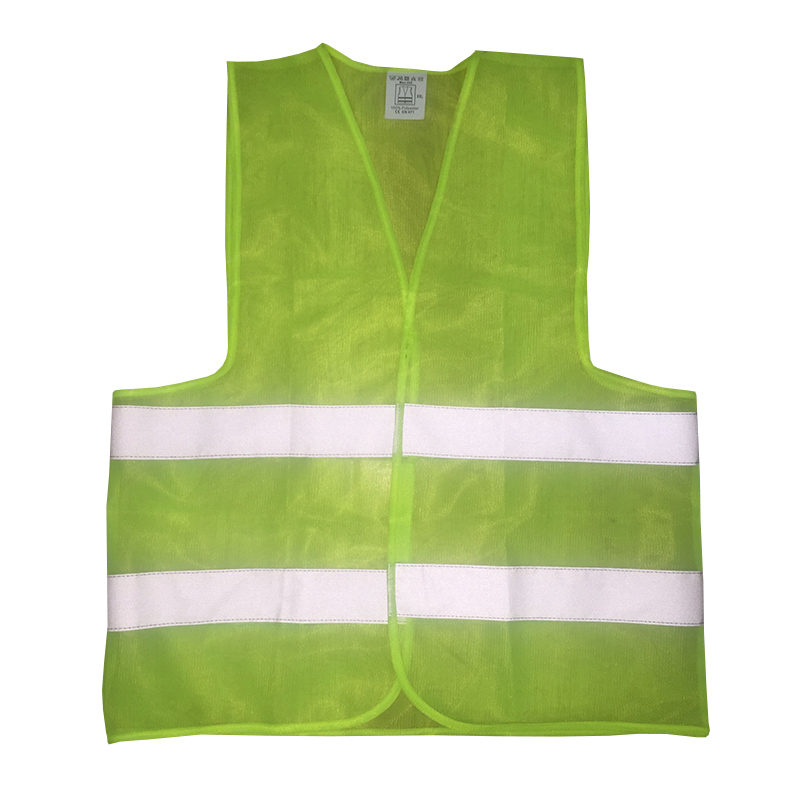 FGHGF Visibility Security Safety Vest Jacket Reflective Strips Work Wear Uniforms Clothing 2 Color Hot Sale