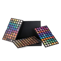 180 Colors Shimmer Matte Neutral Eyeshadow Palette Gillter Highly Pigmented Nude Eye Shadow Three layer Eyeshadow Make up Box