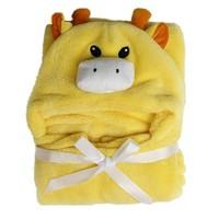 3D Baby Blankets Neonatal Hold Flannel Hooded Blanket Swaddling For Toddlers Infant Envelope For Newborns Hooded Bathrobe Towel