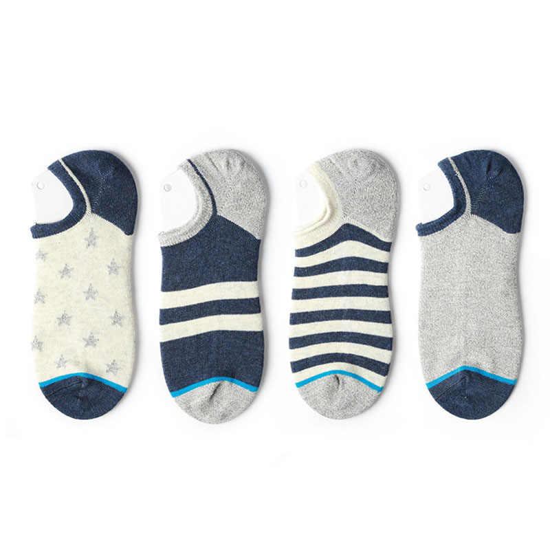 12 paar/zak Lente Originele mannen Sokken Zomer Tij Sokken Nieuwe Sokken vrouwen Japanse Katoen Paar Ondiepe Mond Boot sokken