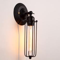 Lampes murales rétro américaines Loft lampes murales Vintage pour café/couloir lampe murale à bras unique lampe de chevet décor industriel