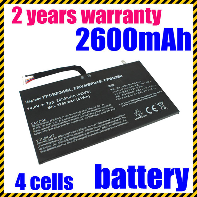 Laptop battery FMVNBP219 FPB0280 FPCBP345Z For Fujitsu  UH572 series