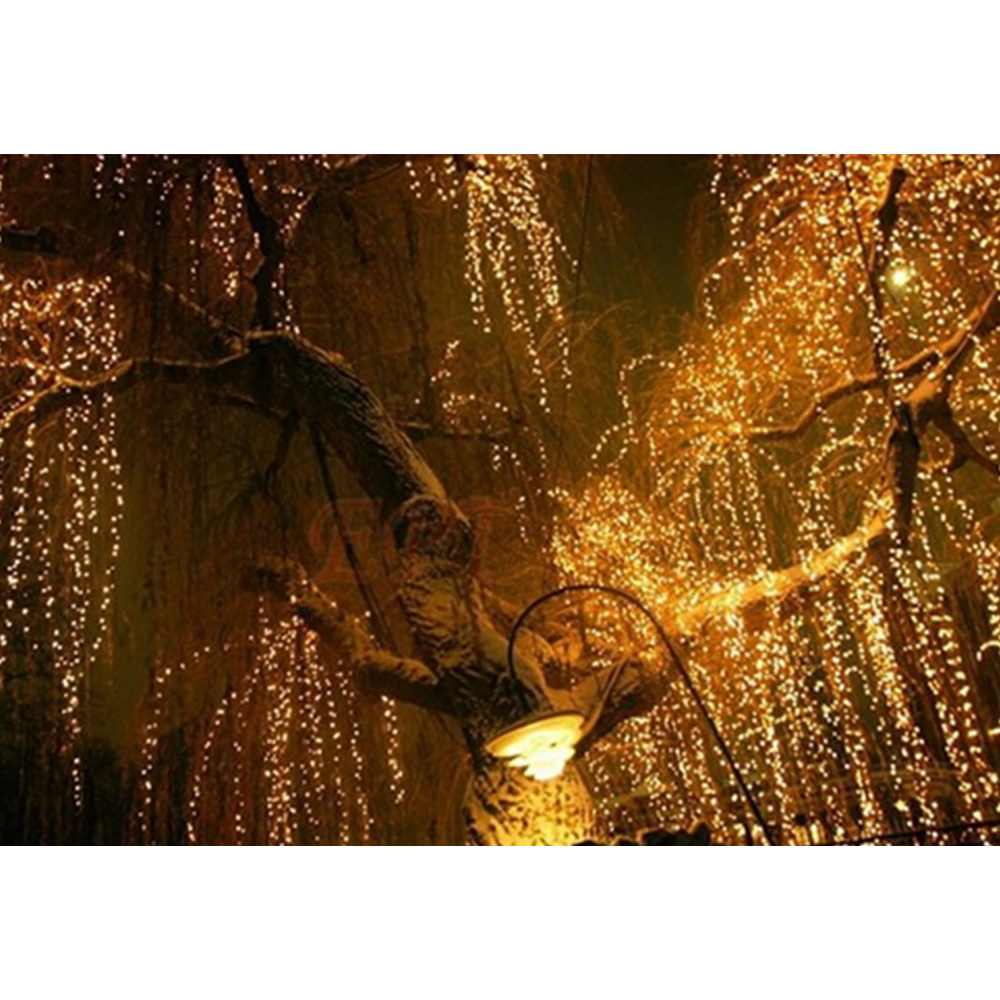 Outdoor Lighting Competent Itimo Home/outdoor Lamps String Fairy Lights 100 Led 10m Us Plug Party Supplies Christmas Wedding Holiday Decoration Lighting For Improving Blood Circulation