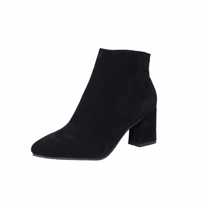 2018 New Fashion Women Ankle Boots Autumn Sexy High Heels Zipper Platform Autumn Botas Mujer Ankle Booties Black Botines Mujer ankle boots women black pu leather extreme high heels zipper autumn brand platform women s shoes motorcycle boots botas mujer