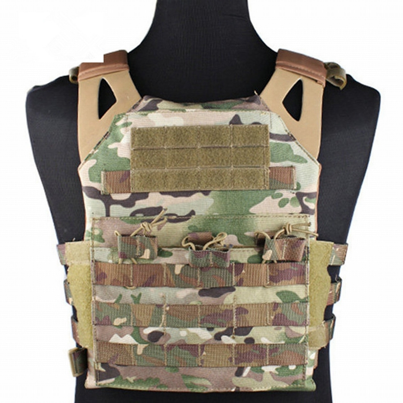 Emerson Tactical 1000D Molle JPC Vest Simplified Version Military Hunting Vest Chest Protective Plate Carrier Vest Wholesale casio watch 2018 new fashion trend quartz watch simple fashion waterproof strip ladies watch women watch ltp 1410l ltp 1410d