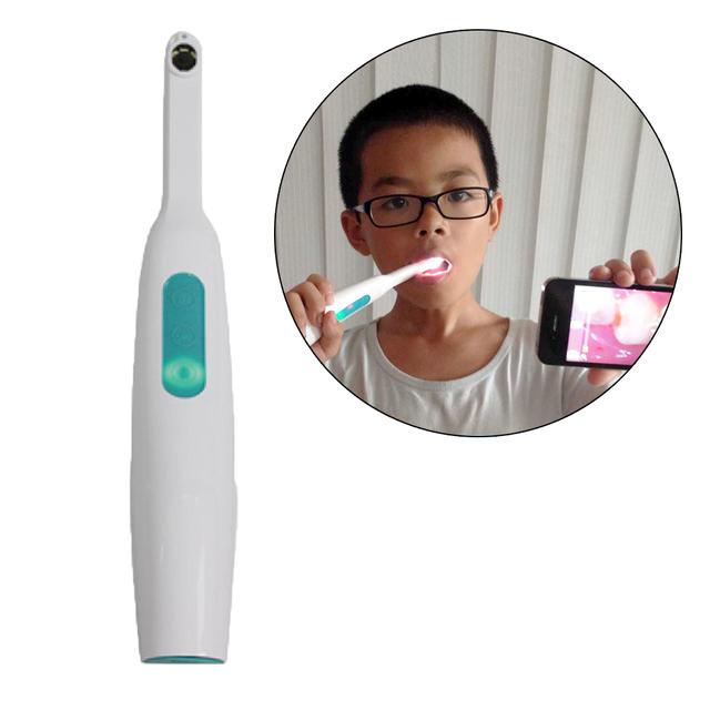720 P Wifi câmera sem fio Dental Intraoral luzes LED de monitoramento de inspeção para o dentista Oral de tempo Real vídeo para o iPhone 6 6 S