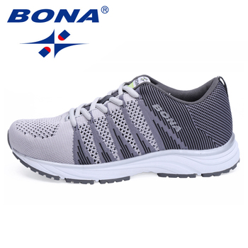 BONA New Typical Style Women Running Shoes Outdoor Walking Jogging Sneakers Lace Up Mesh Athletic Shoes soft Fast Free Shipping 1