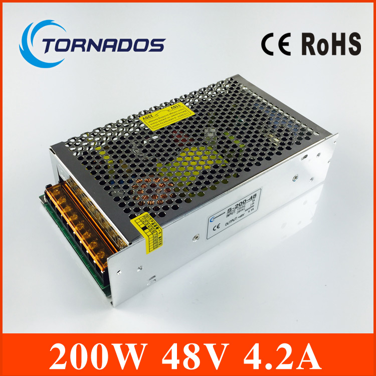dc power supply 48V 200W Switching Power Supply Driver ac110v ac220v  to DC 48V For LED Strip Light Display 90w led driver dc40v 2 7a high power led driver for flood light street light ip65 constant current drive power supply