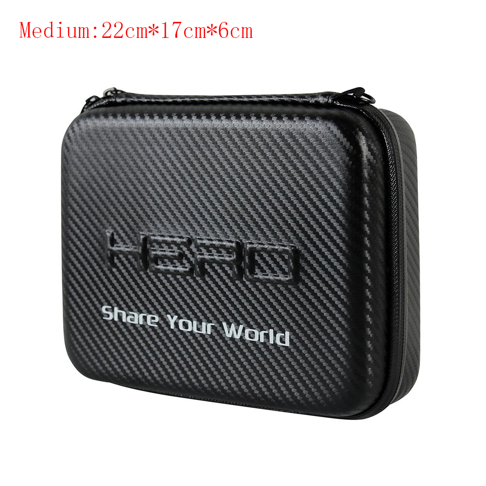 Medium New Travel Storage Collection Waterproof Bag Case For GoPro Hero 6/5/4 For SJCAM For YI For Action Camera Accessories