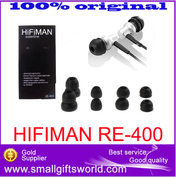 100% Original HiFiMAN RE-400 re400 High-HiFi Tilbehør Feberytelse Ny In-ear Earphone Gratis frakt