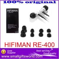 100 Original HiFiMAN RE 400 High Performance New In Ear Headphone Earphone Free Shipping