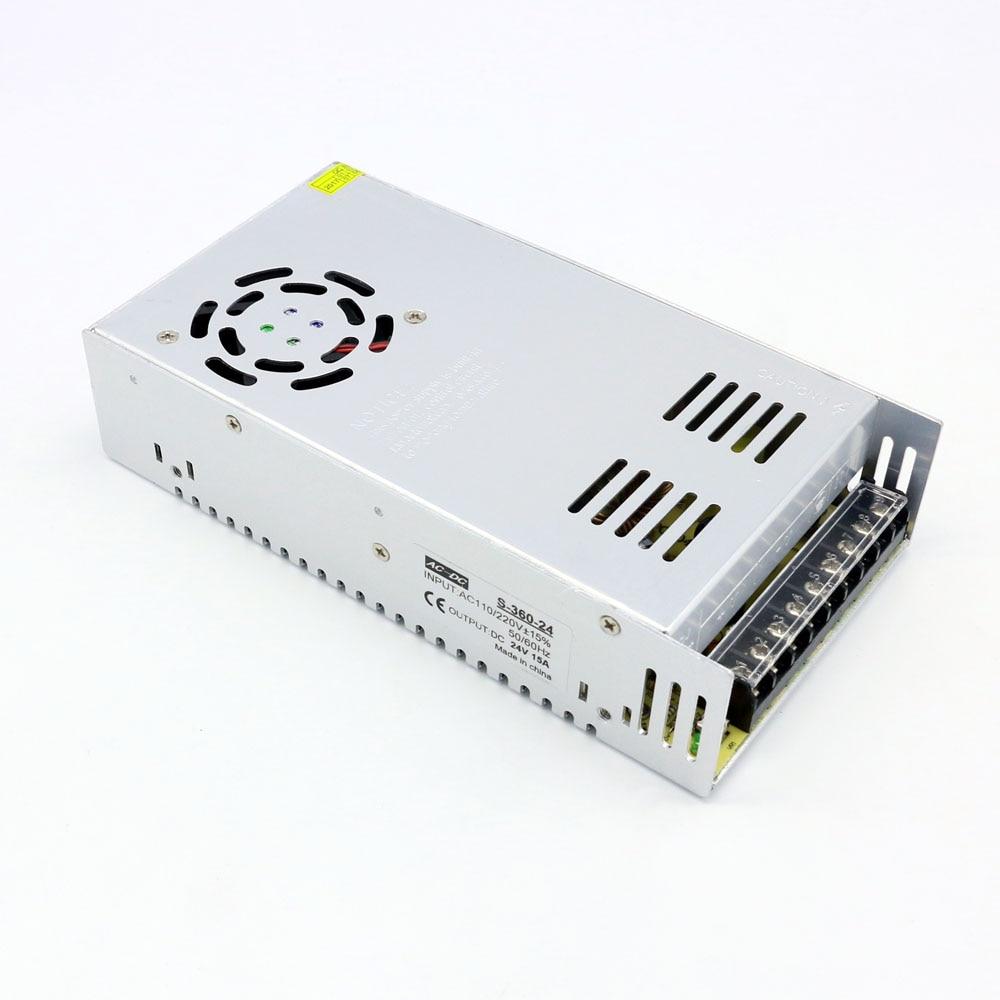все цены на Power Supply Ac to Dc 24V 15A Constant Voltage Switch Power Supply Transformer 360W онлайн
