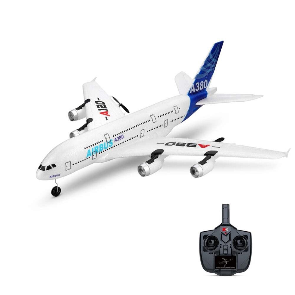 2.4 GHz 3CH RC avion 510mm aile fixe RTF avec télécommande pour Wltoys A380 YH-17
