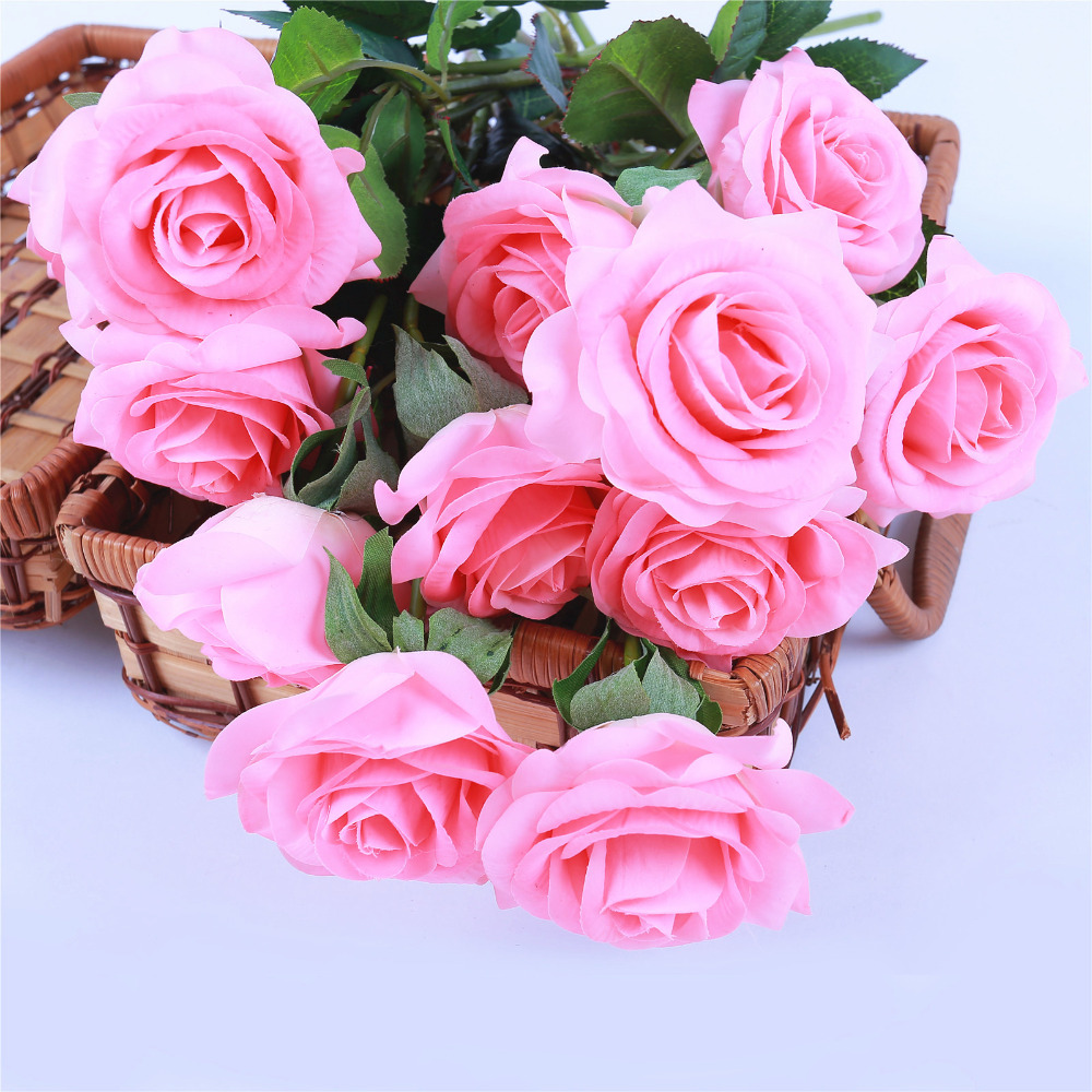 Aliexpress buy 1pc best latex artificial flowers real touch aliexpress buy 1pc best latex artificial flowers real touch wedding party roses fake flowers wedding bride bouquets white rose for party decor from izmirmasajfo