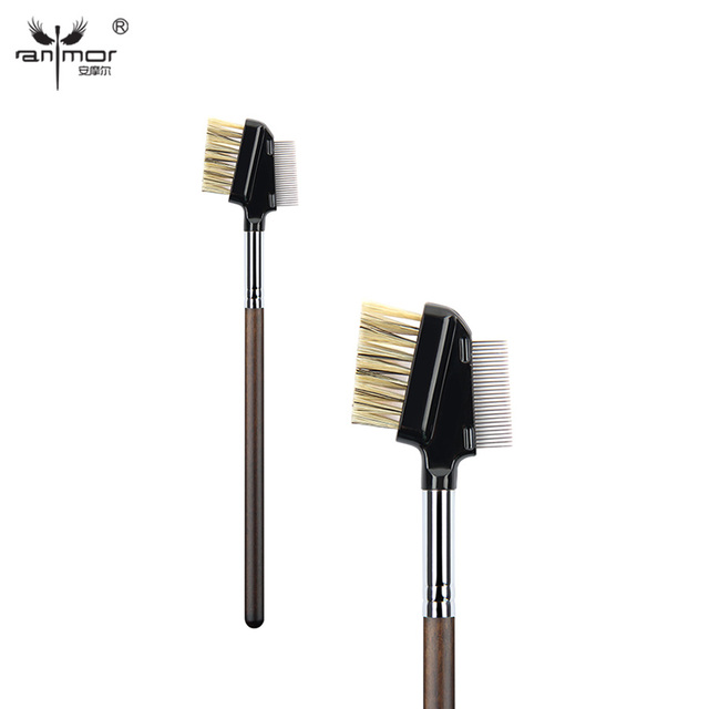 Anmor Eyelash Comb Brush High Quality Eyebrow Makeup Brushes for Daily or Professional Make Up