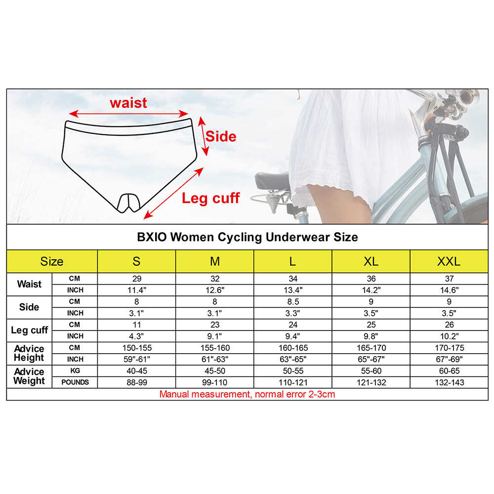Bxio Wanita Bersepeda Pakaian Hijau Kamuflase Lycra Sepeda Peralatan Olahraga Outdoor Sepeda Celana Pendek Gel Pad BX-IS002