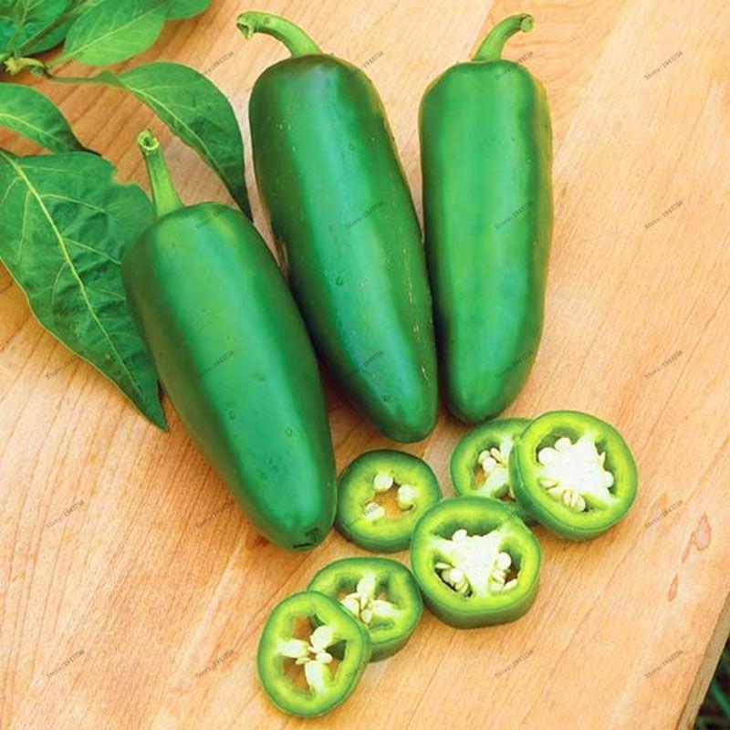 200Pcs Jalapeno Χιλή Pepper Σπόροι Non Gmo κειμήλιο - Αναλώσιμα κήπου