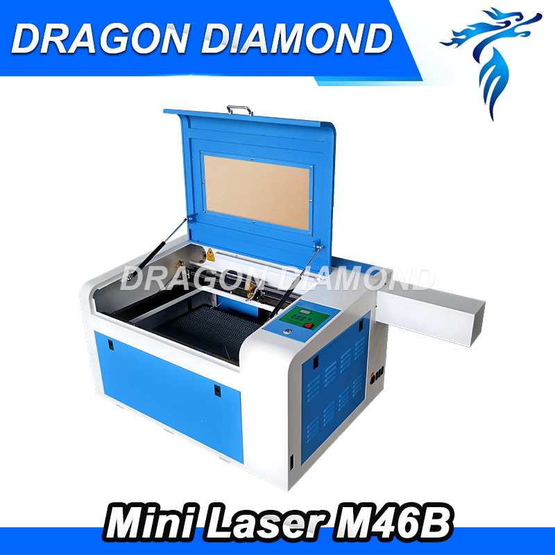 40w 50w New 400*600mm Mini CO2 Laser Engraving Cutting Machine Engraver LZ-M46B new 400 600mm mini co2 laser engraving cutting machine engraver lz m46a