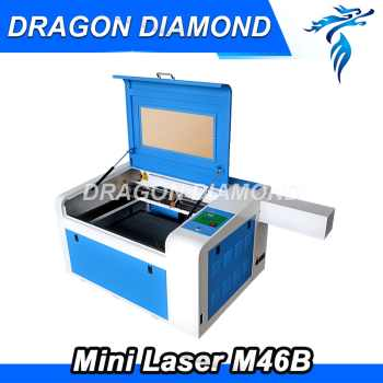 40w 50w New 400*600mm Mini CO2 Laser Engraving Cutting Machine Engraver LZ-M46B - DISCOUNT ITEM  10% OFF Tools