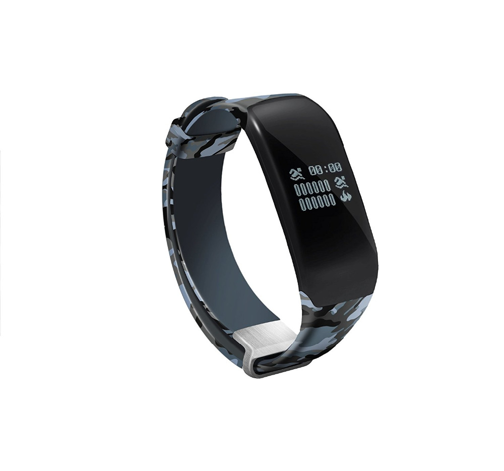 Pedometer Touch Screen Swimming font b Smart b font Bracelet Heart Rate Monitor Sleeping Management Fitness