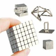 3mm 216pcs Magnetic Cube Neo Cube Balls Building Toys PUZZLE 216pcs 5mm building toys magnetic blocks cubes