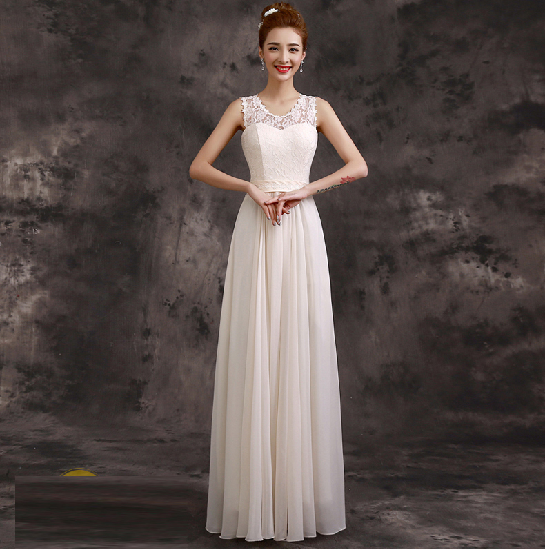 Chiffon Banquet Gowns 2016 Party Dresses Bridesmaid Gown ...