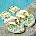 Flipflops Designer Flip Flop Women Flat Brand Flip Flops Clip Toe For Tong Femme 2016 Boho Sandal Ethnic Bohemian Sandals YS x57