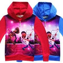 EMS/DHL Free shipping 2017 New Girl Boy Dream Cartoon Coat Children Cardigan Sweater Hoodie  wholesale