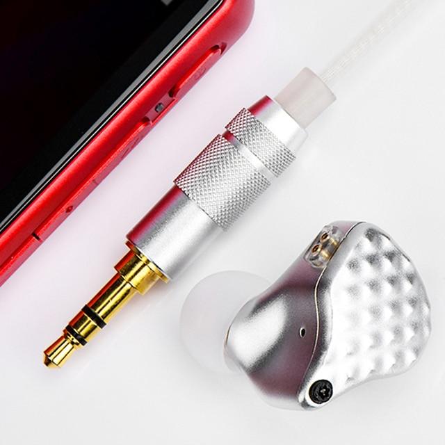 TFZ S7 1DD+4BA Hybrid Technology HiFi Monitor Earphones with Detachable Cable 6