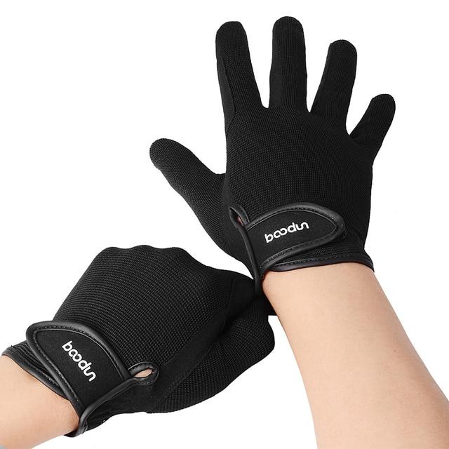 Professional Horseback Riding Gloves For Men or Women Equestrian Activity  3