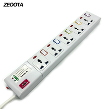 Power Strip 3 4 5 6 AC Universal Outlets Plug 3m 9 8ft Extemsion Cord Individual